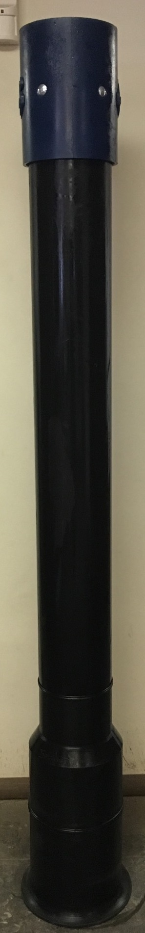 """6"""" Poly Dig Tube with Flat Flange"""